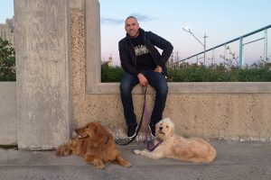 Brooklyn Dogs and Trainer Bijan